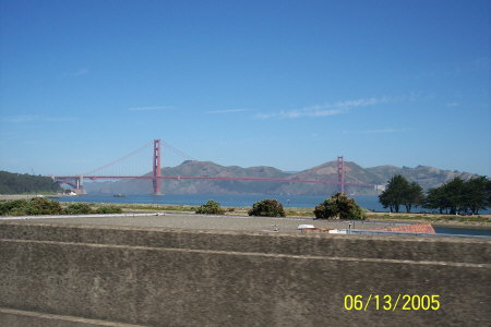 San Francisco............Golden Gate Bridge