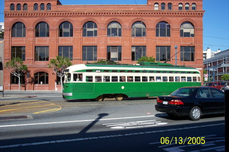 San Francisco............Trolly Car
